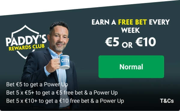 earn a free bet at every week